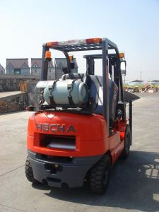 Big Sale! CE\ISO9001 Approved Gasoline/LPG Forklift with Nissan Engine pictures & photos