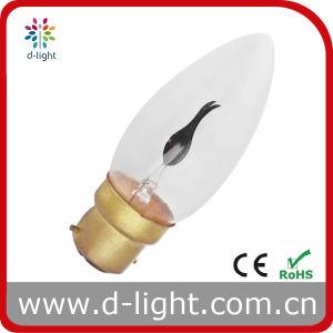 C35 B22 Incandescent Bulb, Candle Bulb