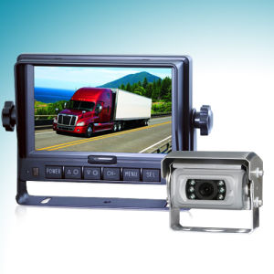 5inch Wired Car Rear View System Wiht Auto Shutter Camera