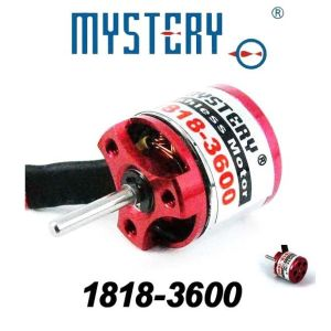 China mystery 3600kv outrunner brushless motor for rc for Toy helicopter motor rpm