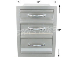 BBQ Access Triple Drawer