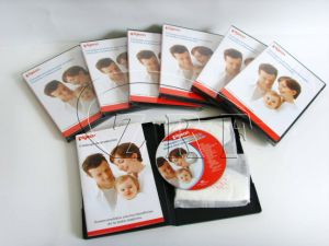 DVD Replication with Booklet in DVD Case pictures & photos