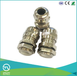 NPT Metal IP68 Waterproof Cable Gland Brass Nickel Plated pictures & photos