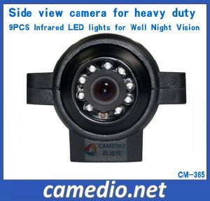 Heavy-Duty Waterproof IP68k Side View Security Camera with Infrared LED Lights pictures & photos
