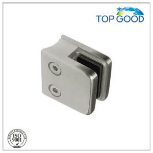 Stainless Steel Square Type Glass Clamp for Glass Railing System