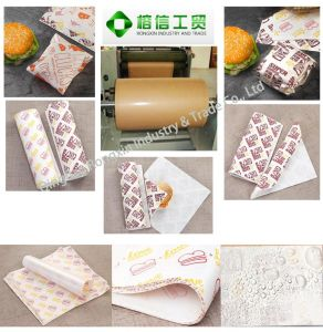 Burgerking Food Wrapping Paper, Made in China pictures & photos