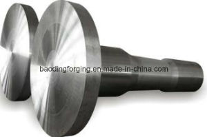 Hot Forging Fan Turbine Shaft and Steel Products Fan Motor Shaft pictures & photos