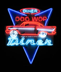 Custom Car Diner Neon Sign
