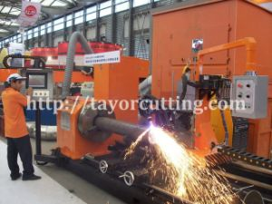 Tube Profile Cutting Machine, Intersection Plasma Cutting Machine (CNCXG) pictures & photos