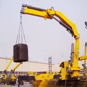 hydraulic Boom Mounted Crane pictures & photos