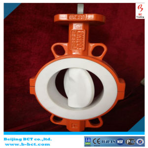 PTFE / Wafer Type Butterfly Valve Bct-F4bfv-13 pictures & photos
