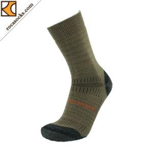 Men′s Sport Merino Wool Winter Hiking Socks (162006SK) pictures & photos