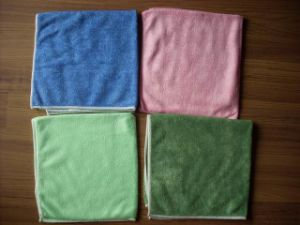 Microfiber & Microfibre Weft Towel Car Cleaning Cloth