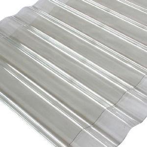 Transparent PVC Corrugated Sheet
