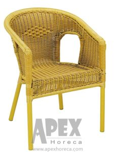 Patio Chair Rattan Chair Cafe Furniture Garden Furniture (AS1090BR) pictures & photos