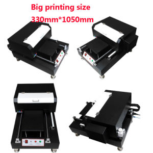 Big Size A2 Flatbed UV Printer for Phone Case Glass