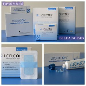 Medical Hydrogel Wound Dressing for Diabetic Foot / Pressure Ulcer1 pictures & photos