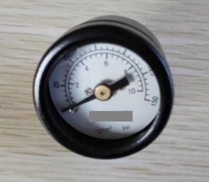 "1"" Black Steel Case Pressure Gauge pictures & photos"
