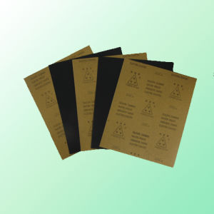 """""""Three Star"""" S/C Waterproof Abrasive Paper (kraft paper backing) pictures & photos"""