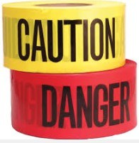 Danger 3 Mil Warning Tape 3 in X 1000 Ft in All Color pictures & photos