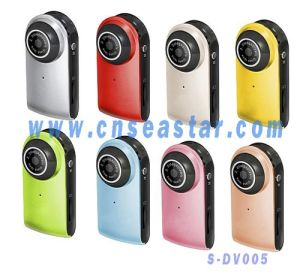 Portable Mini Size Digital Video Camcorder, Pocket Photo Shooting ,PC Camera S-DVR005