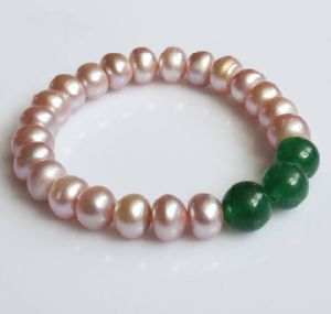 Fashion Stretched Freshwater Pearl Bracelet Jewelry (EB1574) pictures & photos