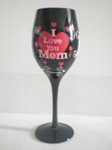 Handpainted Gift Wine Glass Cup (B-790) pictures & photos