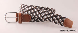 2017 Fashion Elastic Braided Belts for Men (N0740) pictures & photos