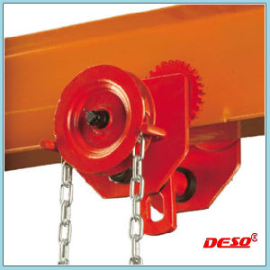 Manual Lifting Geared Trolley for Chain Block pictures & photos