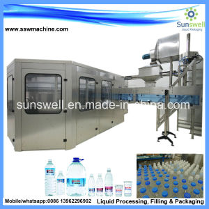 Small/MID Scale Water Bottling Plant/Water Bottling Equipment pictures & photos