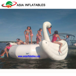 Water Towable Inflatable Sports Equopment, Giant Swan Water Trampoline for Fun pictures & photos