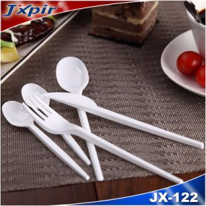 Promotion Plastic Cutlery Set Knife Fork Spoon Set pictures & photos