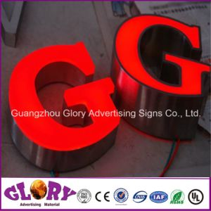 Illuminated LED Acrylic Letter Sign for outdoor Advertising pictures & photos