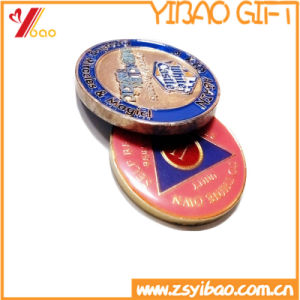 Custom Gold and Silver Two-Tone Coin (YB-LY-C-26) pictures & photos