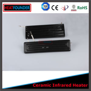 245X60mm 230V Flat Black Color Ceramic IR Heaters pictures & photos