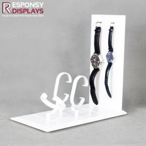 Simple Counter Top White Acrylic Watch Display Rack accessories  Display pictures & photos