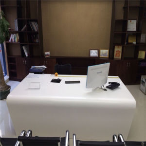 Marble Solid Surface Office Furniture Executive Office Table and Chairs Set pictures & photos