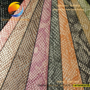 Bottom Price PU Leather for Bag Fsb17m1d pictures & photos