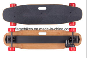Dual Wheel Motor Long Board Electric Skateboard with Wireless Remoter pictures & photos