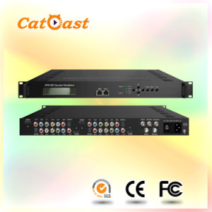 4 Channels HDMI to RF Modulator with DVB-C/DVB-T/ISDB-T/ATSC Output pictures & photos