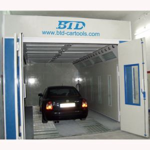 Car Spray Painting Machine Portable Spray Booth Riello Burners pictures & photos