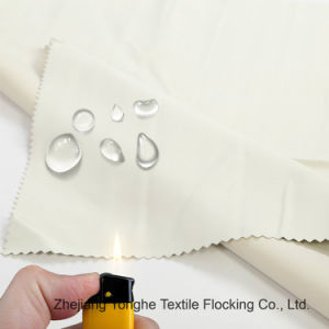 Home Textile Functional waterproof Fr Blackout Curtain Fabric Tc Fabric pictures & photos