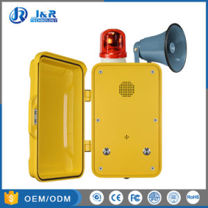 Hand Free VoIP Vandal Resistant Industry Telephone, 3G Emergency Telephones pictures & photos