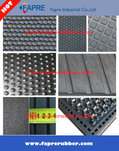 Hammer Surface Groove Bottom Cow Stable Mat pictures & photos