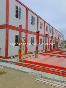 Green Environmental Prefabricated/Prefab Mobile Construction House pictures & photos