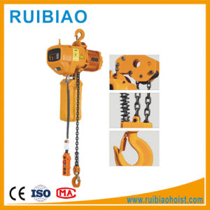 Electric Wire Rope Chain Hoist with Ce Certified pictures & photos