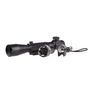 Hunting Rifle Scope Illuminate 3-9X40e R&G/Weaver Rail+Red Laser+CREE LED Flashlight pictures & photos