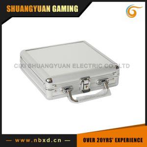 100PCS Poker Chip Set in Plain Surface Aluminum Case (SY-S09) pictures & photos