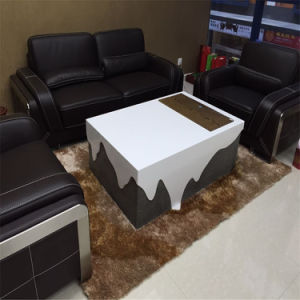 Modern Design White and Black High Gloss Office Furniture Office Desk pictures & photos
