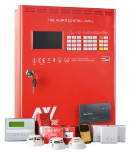 2-Wire Non-Polarity Addressable Fire Alarm Control Panel pictures & photos